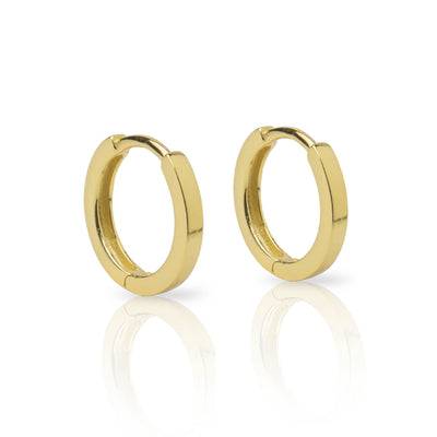 12mm Simple Huggie Earrings
