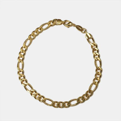 Figaro Chain Goldfill Anklet