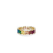 Jagged Rainbow Ring