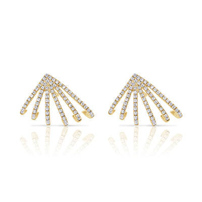 Gatsby Diamond Earrings