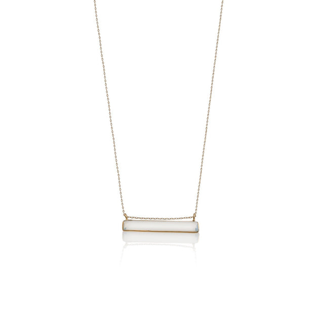Opalite Bar Necklace