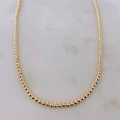Goldfilled Beaded Necklace
