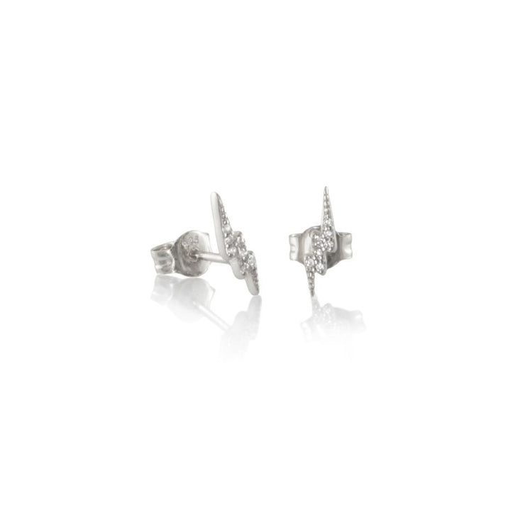 CZ Lightening Studs
