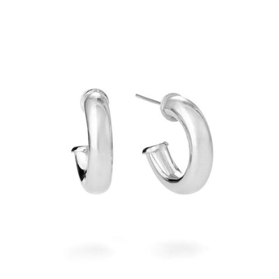 Small Tube Hoop Earrings