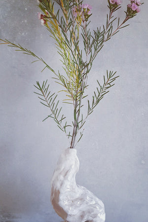 Twisted Thin Vase