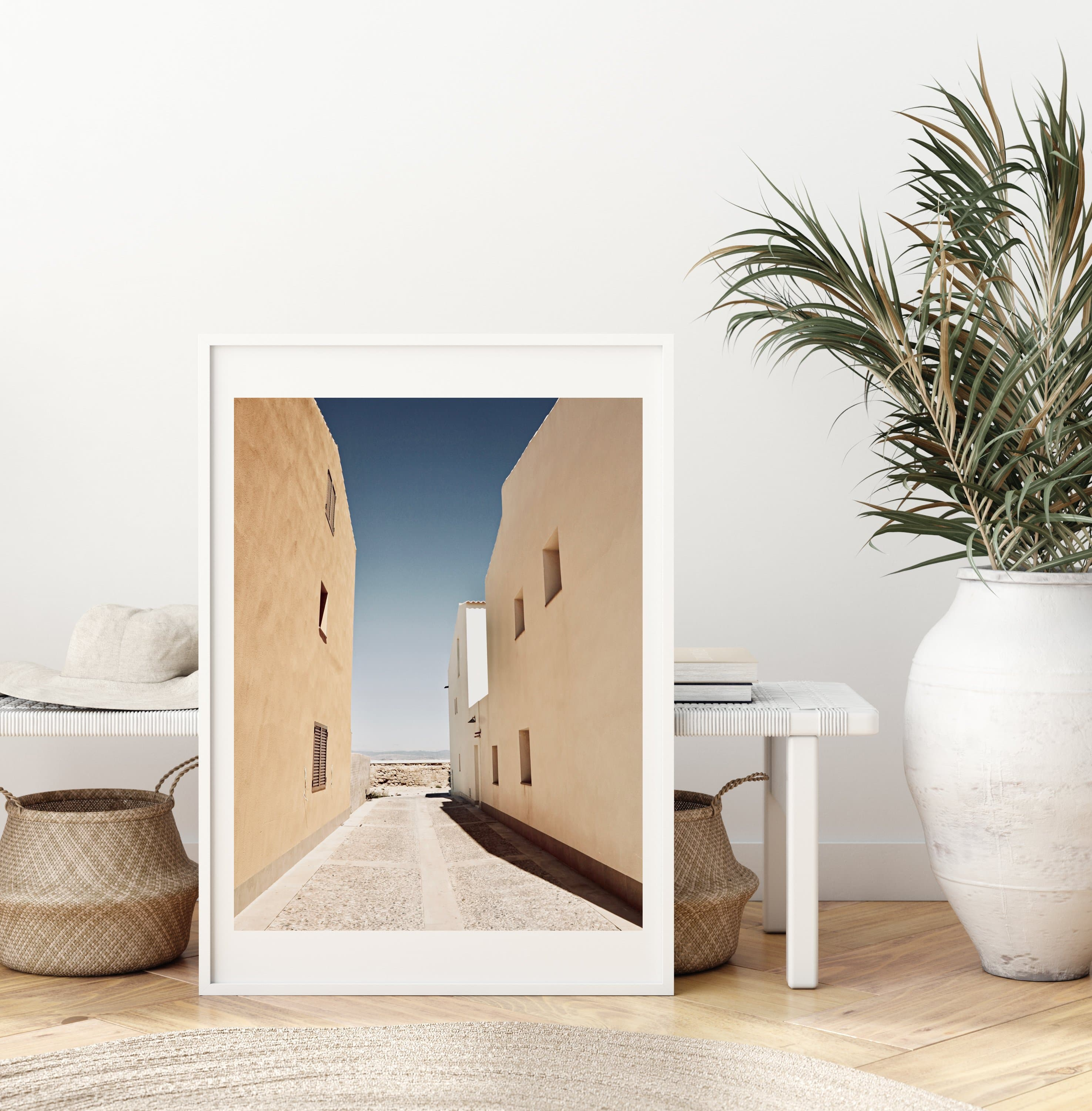 Tabarca - Lively Bay - Fine art posters