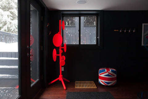 Union Jack Ottoman at home