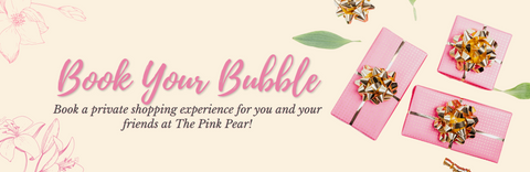 Book Your Bubble - The Pink Pear