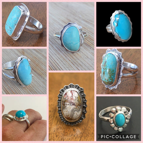 New Rings from Mothers On The Mountain Jewelry