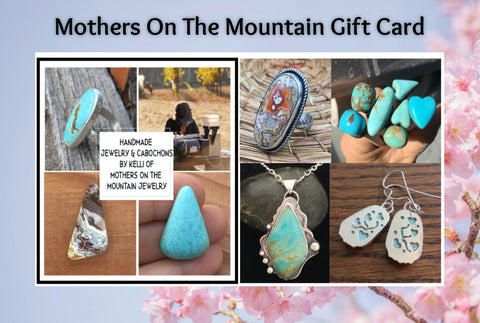 Mothers On The Mountain Jewelry Gift Cards