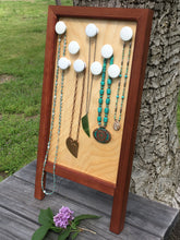 Load image into Gallery viewer, Wooden Necklace Board Washboard Style Mothers On The Mountain Jewelry
