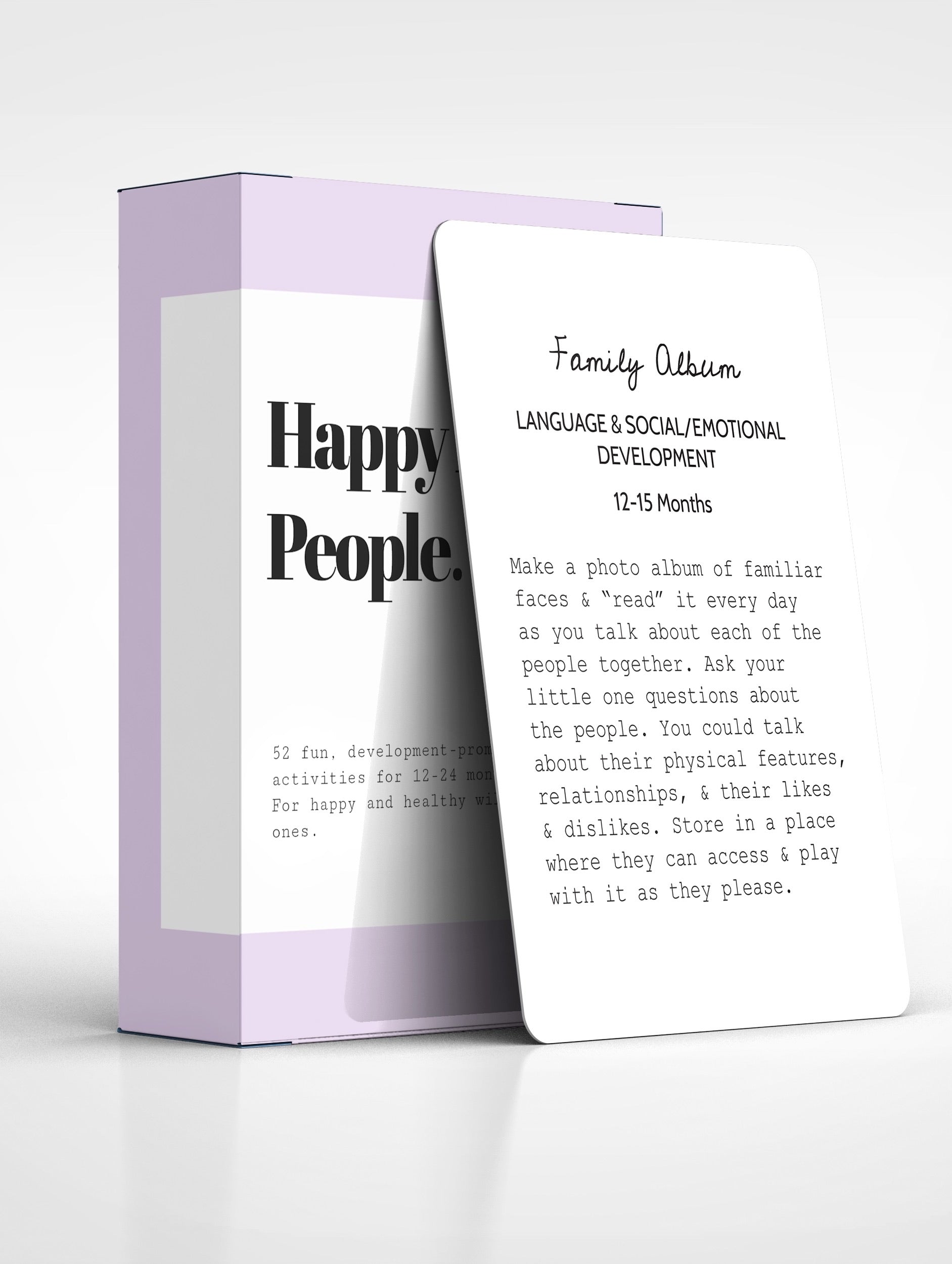 Happy Little People™ Activity Cards: The Second Year