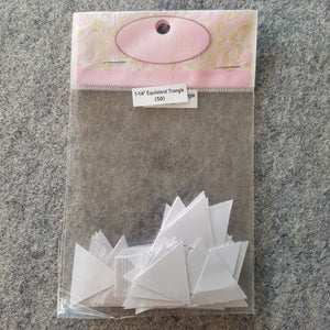 "1 1/4"" Equilateral Triangle ~ EPP Paper Template 100pc"