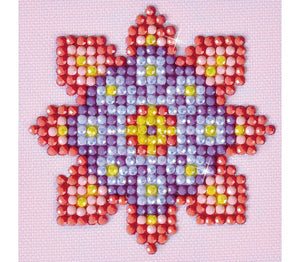 Diamond Dotz Starter Kit ~ Flower Mandala 2