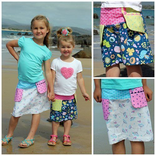 Swing Pocket Skirt ~ Kids
