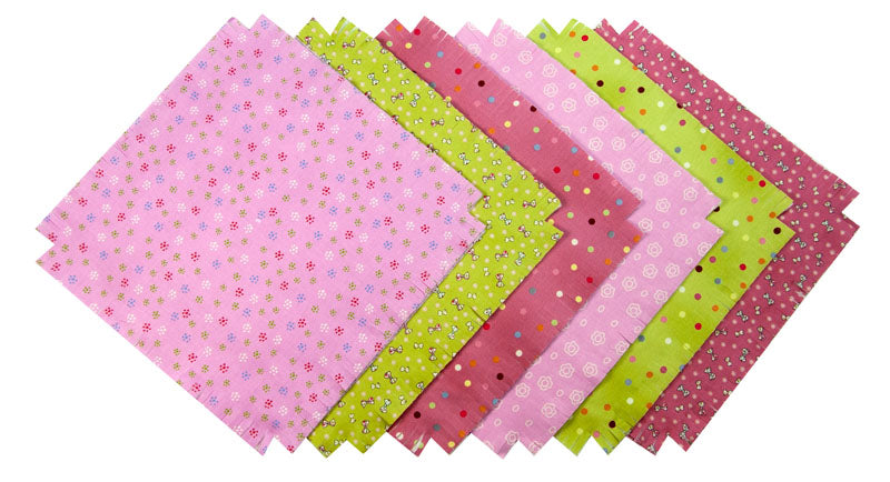 Shaggy Quilt Kit ~ Buttons & Bows