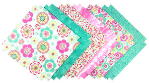 Shaggy Quilt Kit ~ Pretty Petals