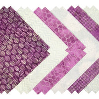 Shaggy Quilt Kit ~ Purple Ice