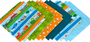 Shaggy Quilt Kit ~ Trains, Planes & Cars