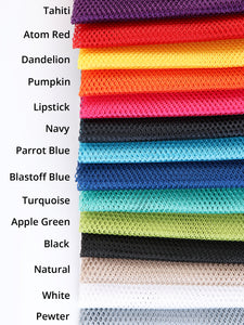 "By Annie ~ Lightweight Mesh Fabric ~ 18"" x 54"" ~ Assorted Colours"