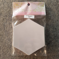 "2"" Hexagon ~ EPP Paper Template 100pc"