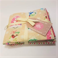 Snowglobes ~ Fat Quarter Bundle 5pc