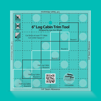 "Non-Slip 6"" Log Cabin Trim Tool"