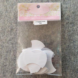 "2"" Apple Core ~ EPP Paper Template 100pc"