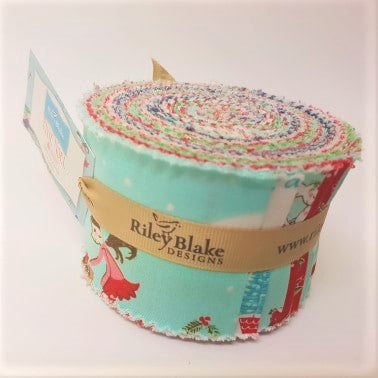 Pixie Noel ~ Jelly Roll 2.5 inch ~ 21pcs