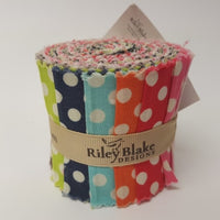 Small Dot ~ Jelly Roll 2.5 inch ~ 10pcs