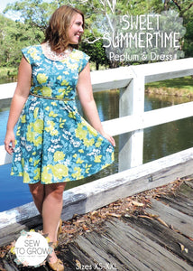 Sweet Summertime ~ Peplum & Dress
