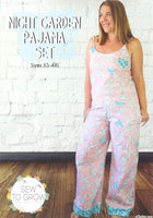 Night Garden Pajama Set