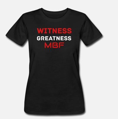 Witness Greatness Shirts
