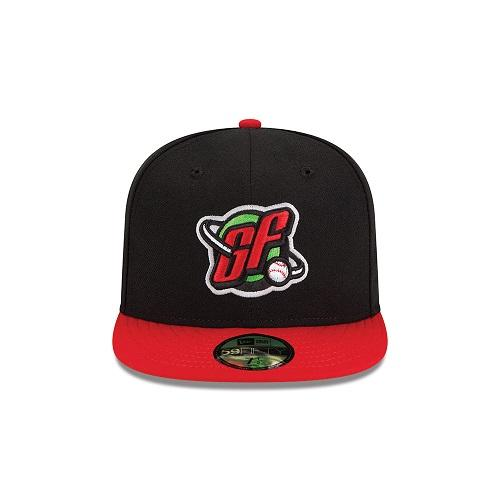 Official Alternate Black & Red On-Field Fitted Hat