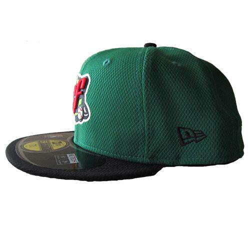 Green & Black BP Mesh Fitted Hat