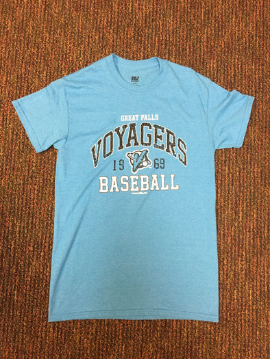 Voyagers Sapphire Heather Tee