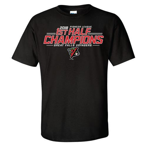 First Half Champions Black T-shirt
