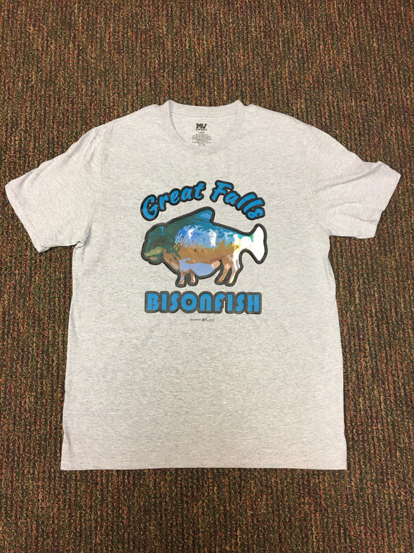 Bisonfish Gray Shirt