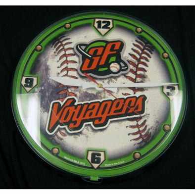 Great Falls Voyagers Voyagers Wall Clock