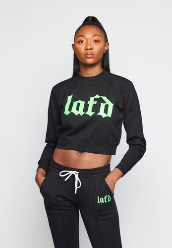 LAFD Old English Sweatsuit Women's