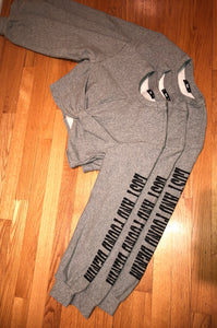 LAFD Cropped Sweater