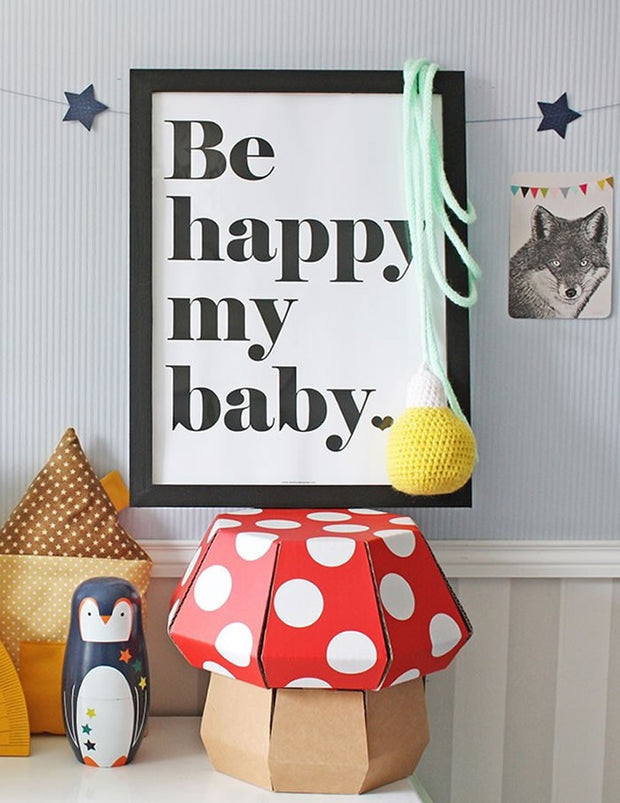 Be Happy My Baby Poster