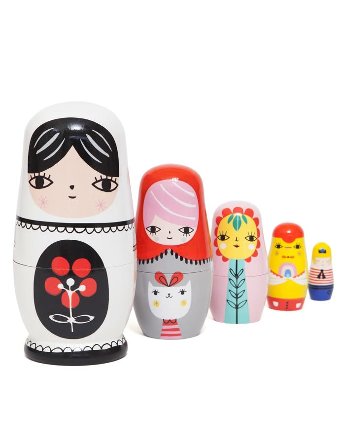 Russian Nesting Dolls - Ladies