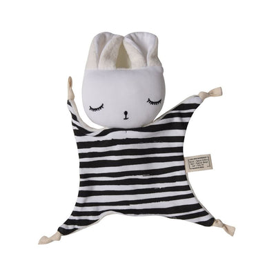 Wee Gallery Organic Cuddle Bunny Comforter - Stripes