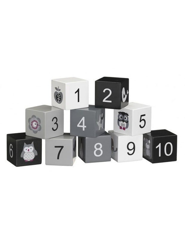 Wooden Numbers Block