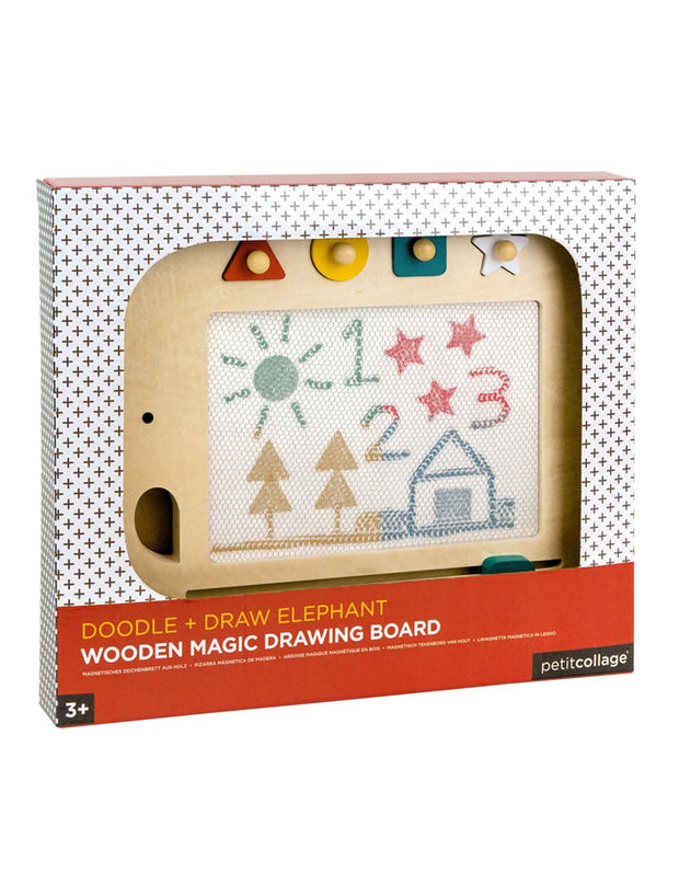 Wooden Elephant Magic Drawing Board