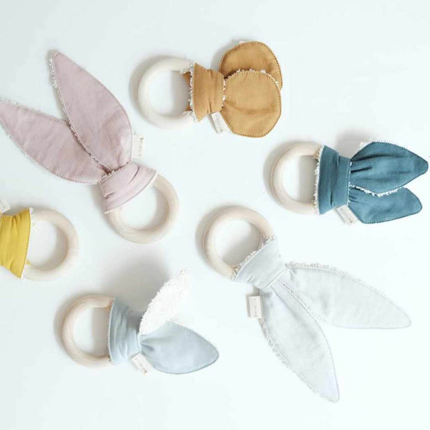 Fabelab Organic Animal Teether - Ochre