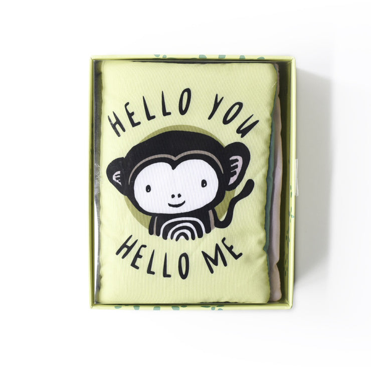 Wee Gallery Soft Baby Book - Hello You
