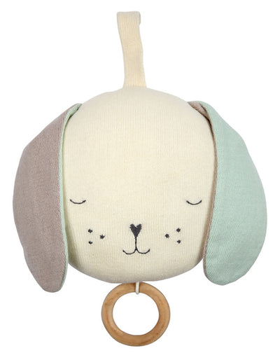Organic Cotton Musical Dog Mobile