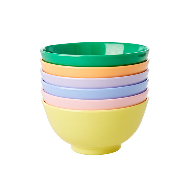 Rice Melamine Bowl - Yellow